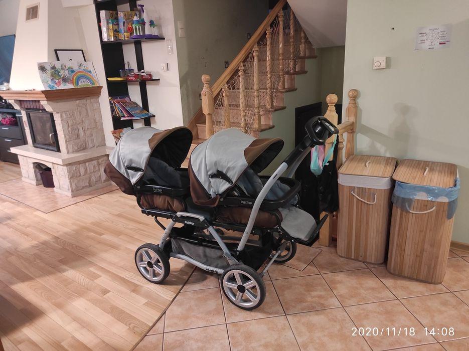 Wózek dla bliźniąt Peg-Perego duette Grabówka - image 1