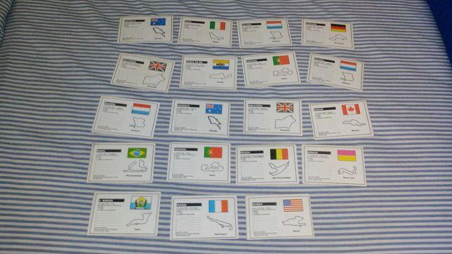 Calendários Colecções Formula 1
