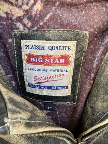 Kurtka skórzana Big star