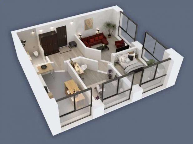 Продам 3х комнатную квартиру 69кв.м. в ЖК Олимпийский