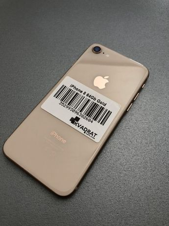 Apple iPhone 8 64Gb Gold Айфон б/у