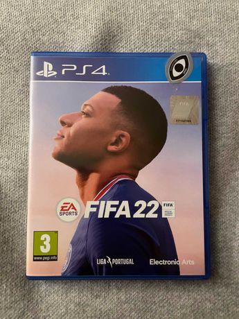 Fifa 22 PS4 como novo