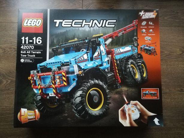 Lego Technic 42070 Terenowy holownik 6x6 Zdalnie sterowny RC NOWY