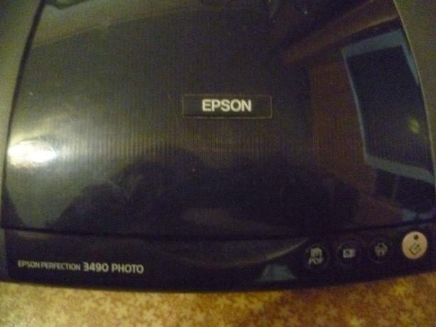 Продам сканер Epson Perfection 3490 Photo