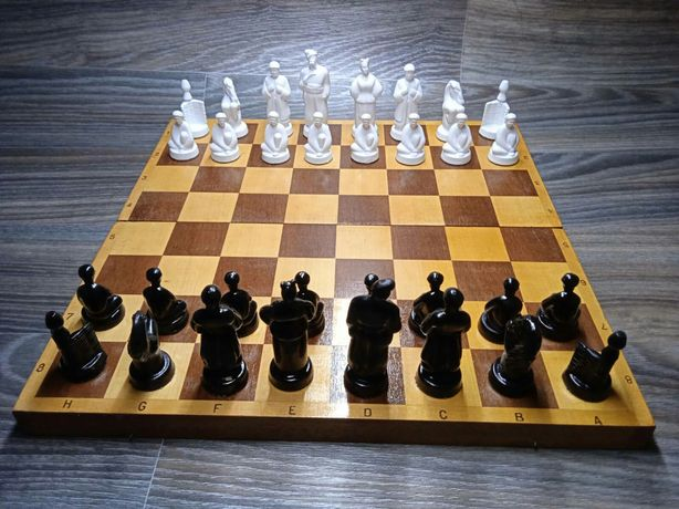 Шахматы 40 на 40. Состояние новое