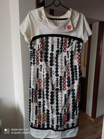 Komplet 44 sukienka i żakiet