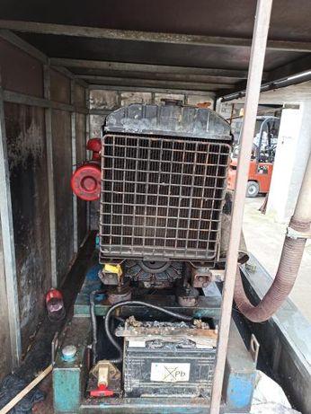 Agregat prądotwórczy 30 kw z przyczepką.