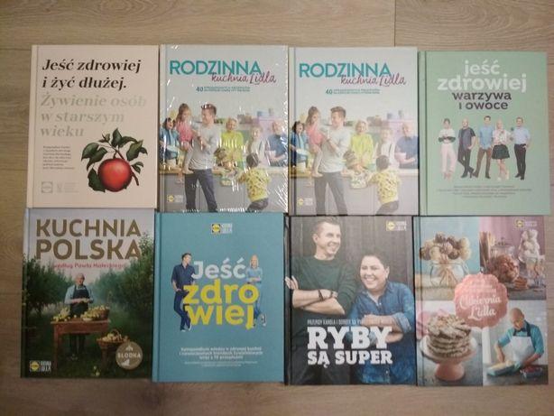 Książki o gotowaniu Lidl