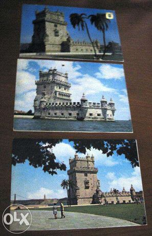 5 Bilhetes Postais Torre de Belém