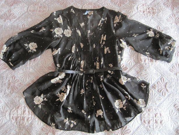 Легкая фирменная блузка р. 46-48
