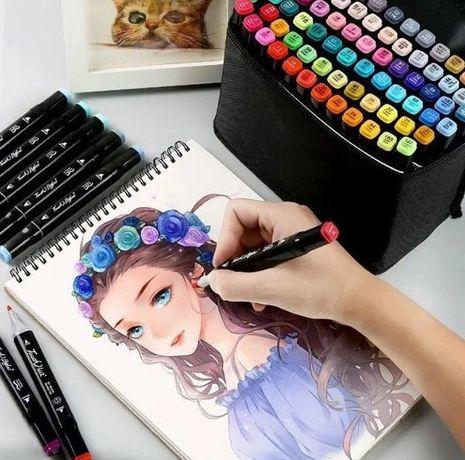 Скетч маркеры для рисования Набор маркеров Thiscolor 36шт, фломастеры