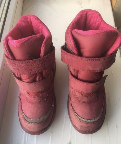 Ботинки сапоги Ecco gore-tex р. 29, 19см непромокаемые