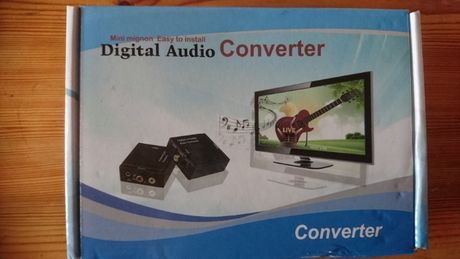 Konwenter Analog na Digital Audio