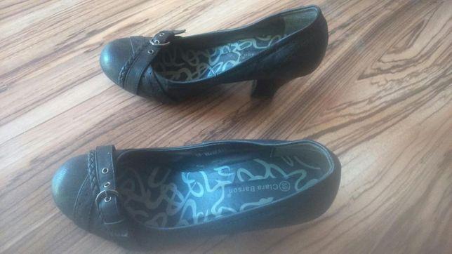 Buty damskie pantofle rozmiar 39 jak nowe