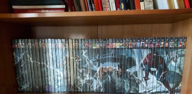 Coleção Completa 60 livros Marvel