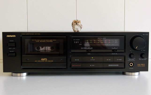 Aiwa AD-F410 tape deck cassetes