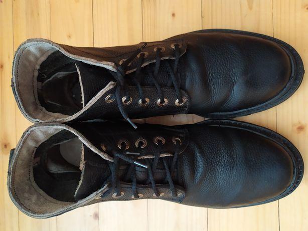 Взуття Сапошки,високі чорні шкіряні made in Germany