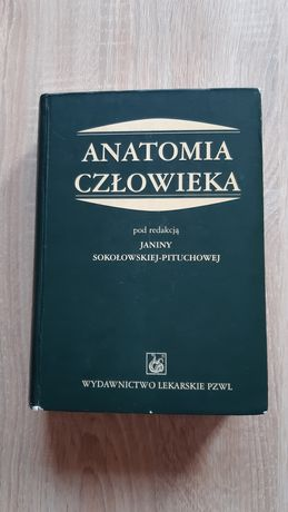 Anatomia człowieka Sokołowska - Pituchowa