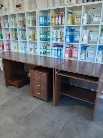 Komplet mebli biurowych - biurko