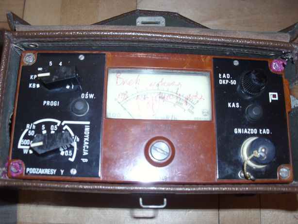 Rentgenometr DP-75 Licznik geigera