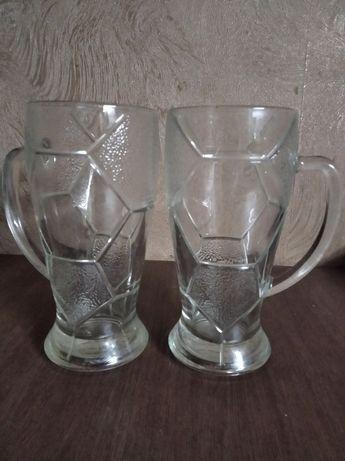 Пивные бокалы (массивные)
