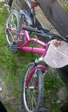 Rower dla dziewczynki