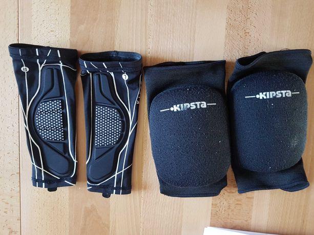 Ochraniacze siatkarskie nakolanniki + rękawki