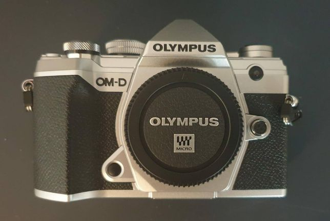 Aparat Olympus E-M5 MKIII - korpus, srebrny, NOWY, 2 lata gwarancji