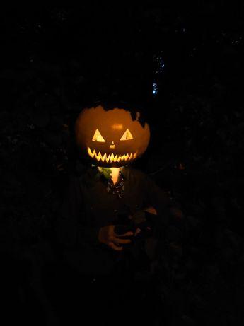 Маска тыква Джек на Хэллоуин