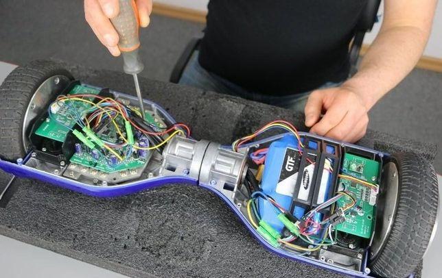 Ремонт электросамокатов, электроскутеров гиробордов гироскутеров