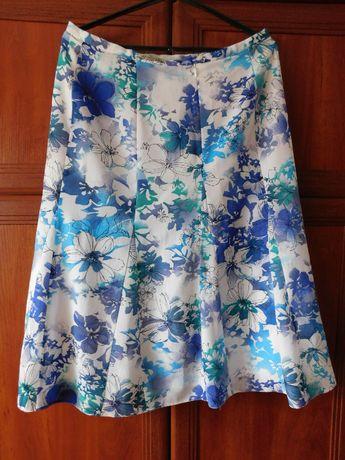 Длинная юбка с цветами df fashion