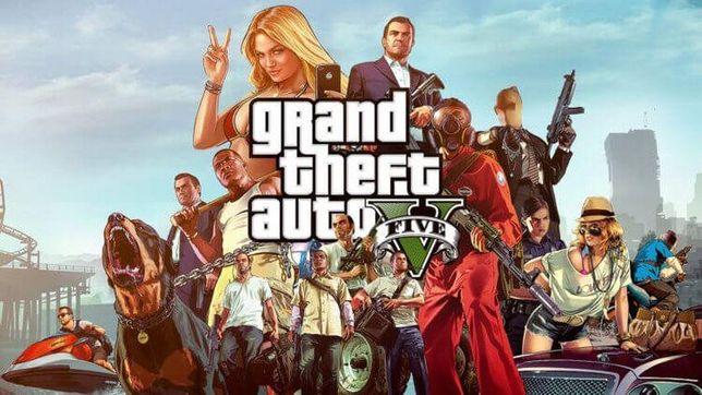 Аккаунт с игрой Grand Theft Auto 5 Premium Edition ONLINE