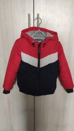 Куртка осенняя утепленная Mothercare на мальчика р.116, на 5-6лет