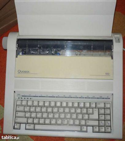 Przenośna elektryczna maszyna do pisania Quasar 180