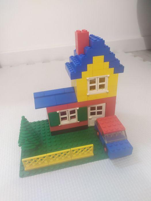 Lego BASIC model 9-1 domek z autem z 1978 roku! Warszawa - image 1