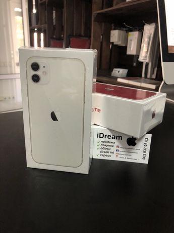 Apple iPhone 11 64 gb White DualSim (2 SIM card) НОВЫЕ с ГАРАНТИЕЙ!