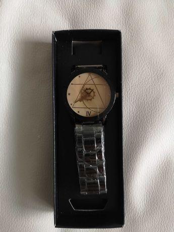 Zegarek męski/bransoleta/czarny  /nowy