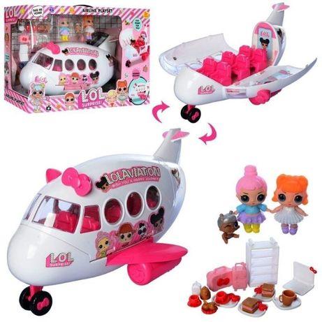 Набор с куклой Lolaviation Лол LoL Самолёт , 3 куклы, аксессуары Хит!!