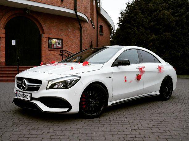 Wynajem Mercedes CLA 45 AMG Limuzyna do Ślubu Auto Samochód na Wesele