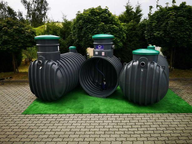 Zbiornik na deszczówkę wodę deszczową Moja woda 3000L 4000L