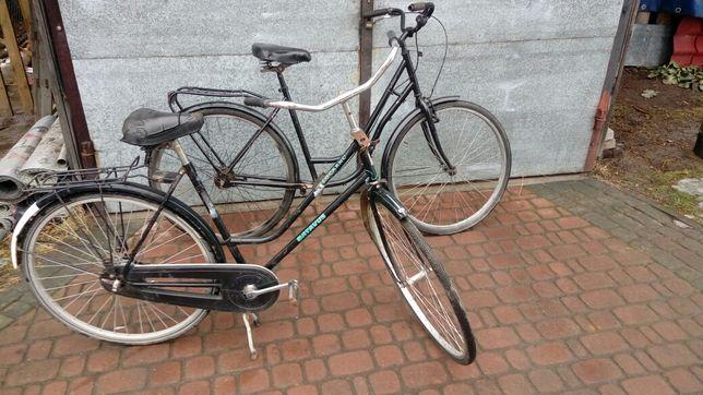 """Rowery 2xdamka koła 28"""" Batavus, Peugeot"""