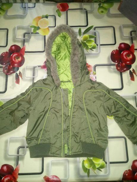 Детская демисезонная куртка 80 см.