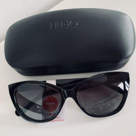 Sliczne kocie okulary przeciwsloneczna marki LIU JO polecam!