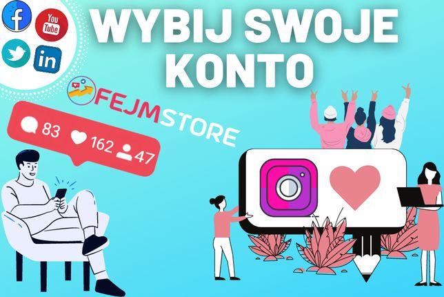 Kup Lajki/Like INSTAGRAM Follow Obserwujący Instagram/Facebook