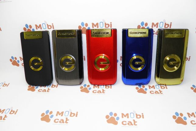 Телефон-раскладушка Guangphone E6 Black/Grey/Gold/Blue/Red