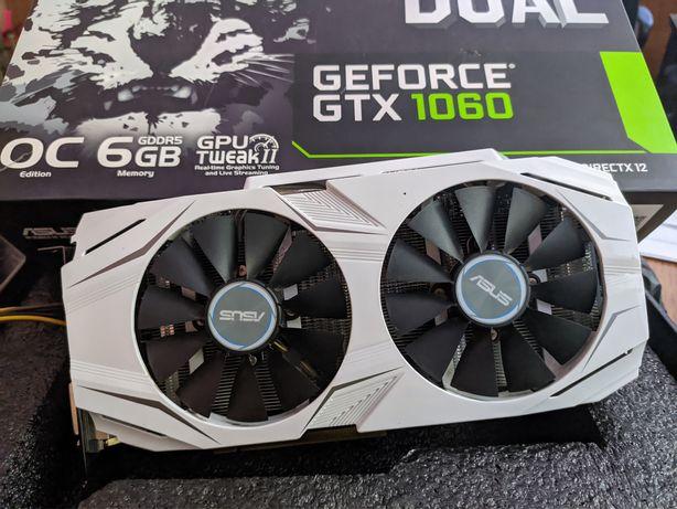 Видеокарта ASUS Geforce GTX 1060 DUAL 6GB не запускается