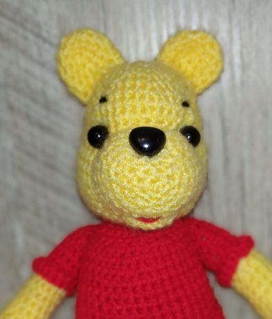 Вязаный мишка Винни Пух