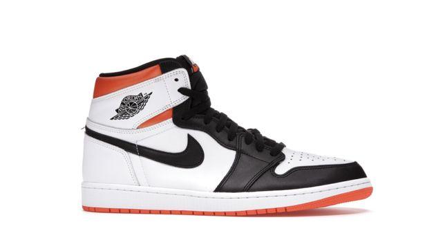 42 - Nike Air Jordan 1 Retro High Electro Orange
