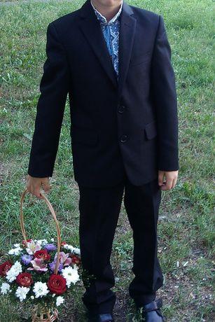 Школьный деловой костюм DAR men's wear на мальчика 128 см, размер 28