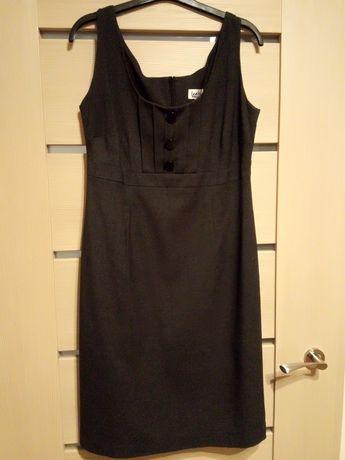Elegancka grafitowa sukienka Leeloo r. S/M